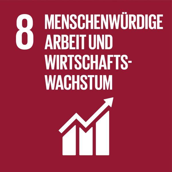 Ziele nachhaltige Entwicklung - Menschenwürdige Arbeit und Wirtschaftswachstum