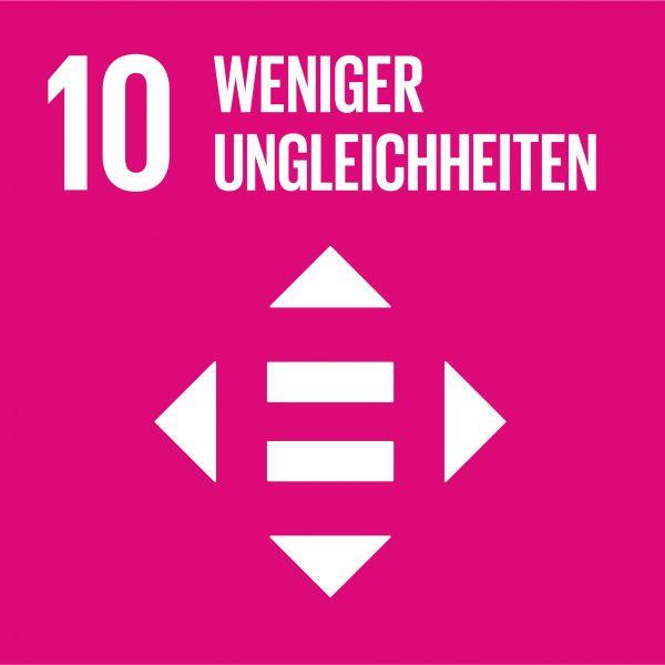 Ziele nachhaltige Entwicklung - Weniger Ungleichheiten